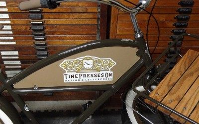 The Letterpress Shop's New Bike